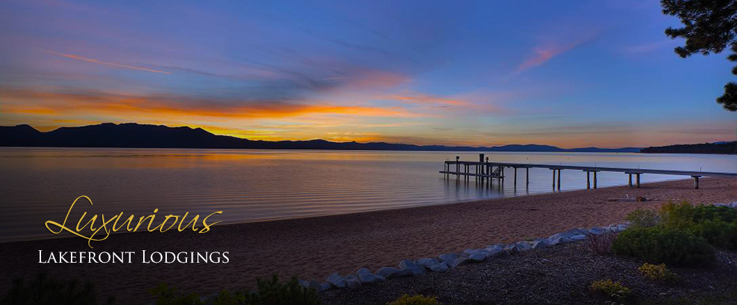 South Lake Tahoe Lakefront Vacation Rentals